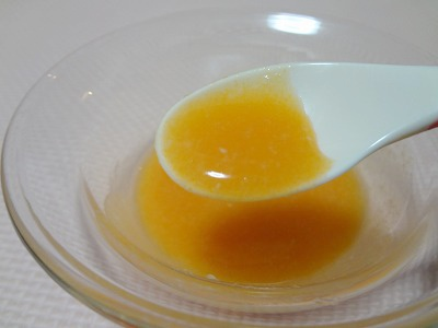 にんじん粥(10倍粥)